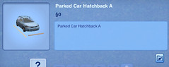 Parked Car Hatchback A