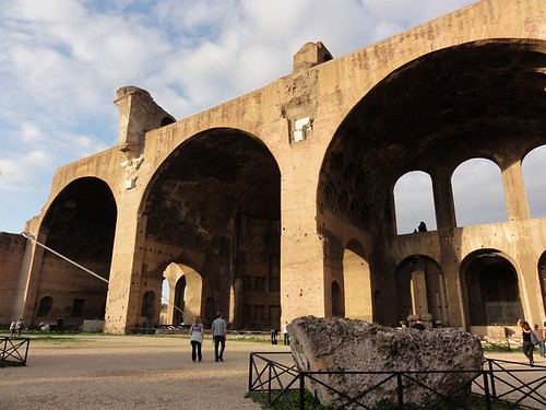 Basilica of Maxentius in Rome