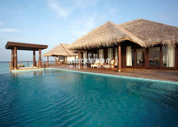 克哈瓦岛安纳塔拉[Anantara Kihava Villas]酒店双卧室水上屋游泳池