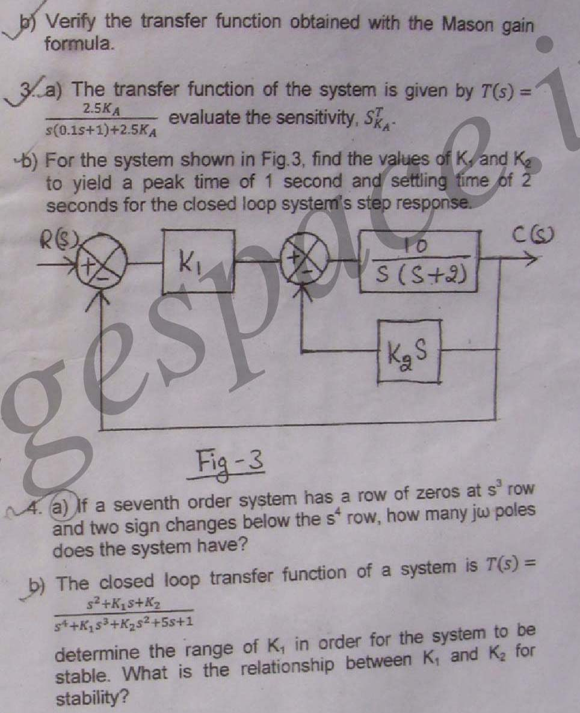 NSIT: Question Papers 2011 – 5 Semester - Mid Sem - EC-302