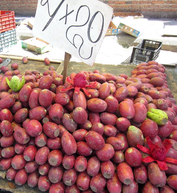 Chapala Monday Market : Prickly Pear