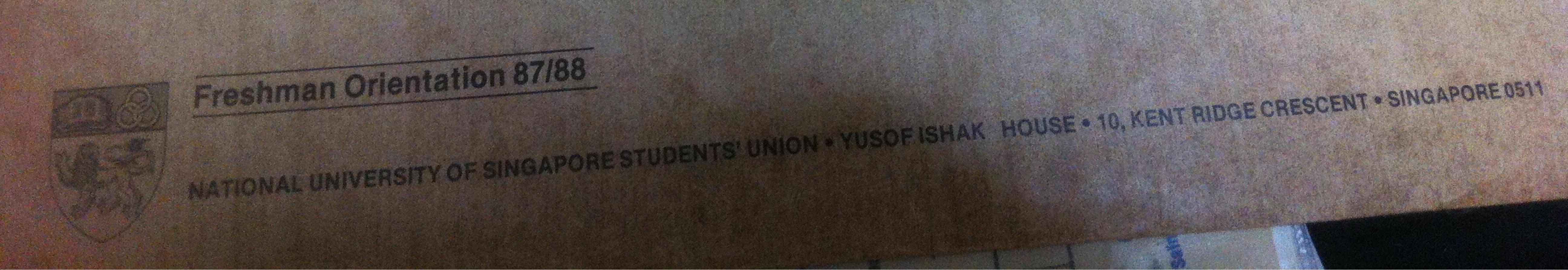 Freshman Orientation 1987_8