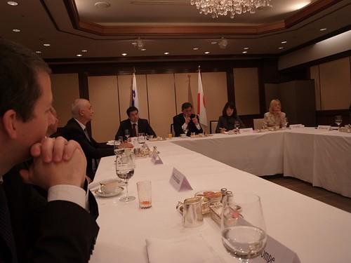 スロヴェニア共和国ボルト・パホル大統領朝食会