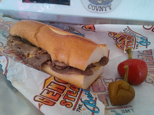 Cheesesteak with Cheez Wiz