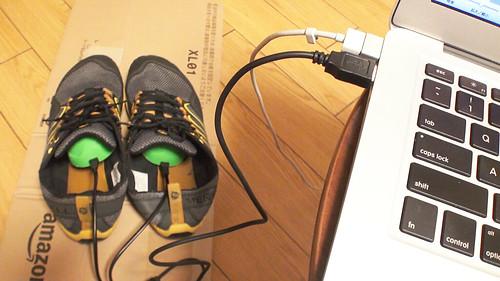 USBシューズ乾燥機