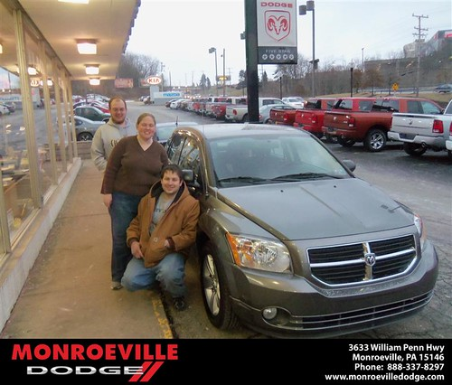 Congratulations to Dempy Smith on the 2011 Dodge Caliber by Monroeville Dodge