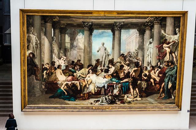 Romains de la décadenceen 1847 - Couture