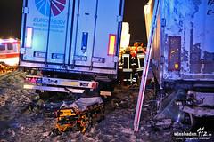 Tödlicher Unfall A3 Rastplatz Theißtal 13.03.13