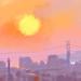 sunset/Beijing