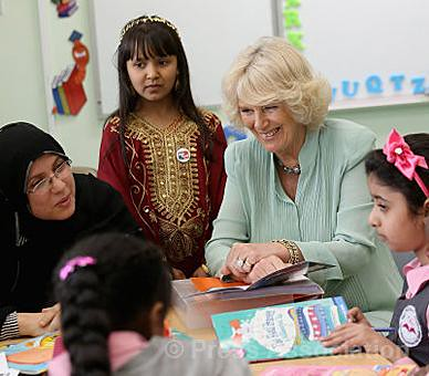 The Duchess of Cornwall in Doha