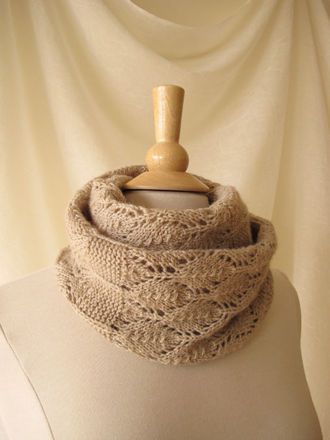 Birchleaf Cowl Doubled_2