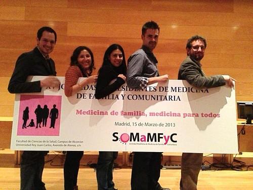 Equipo coordinador de intercambios SoMaMFyC 2013