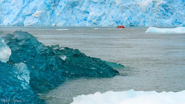 Glaciar San Rafael, Chile