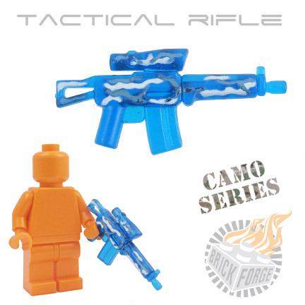 Tactical Assault Rifle - Trans Dark Blue (camouflage)