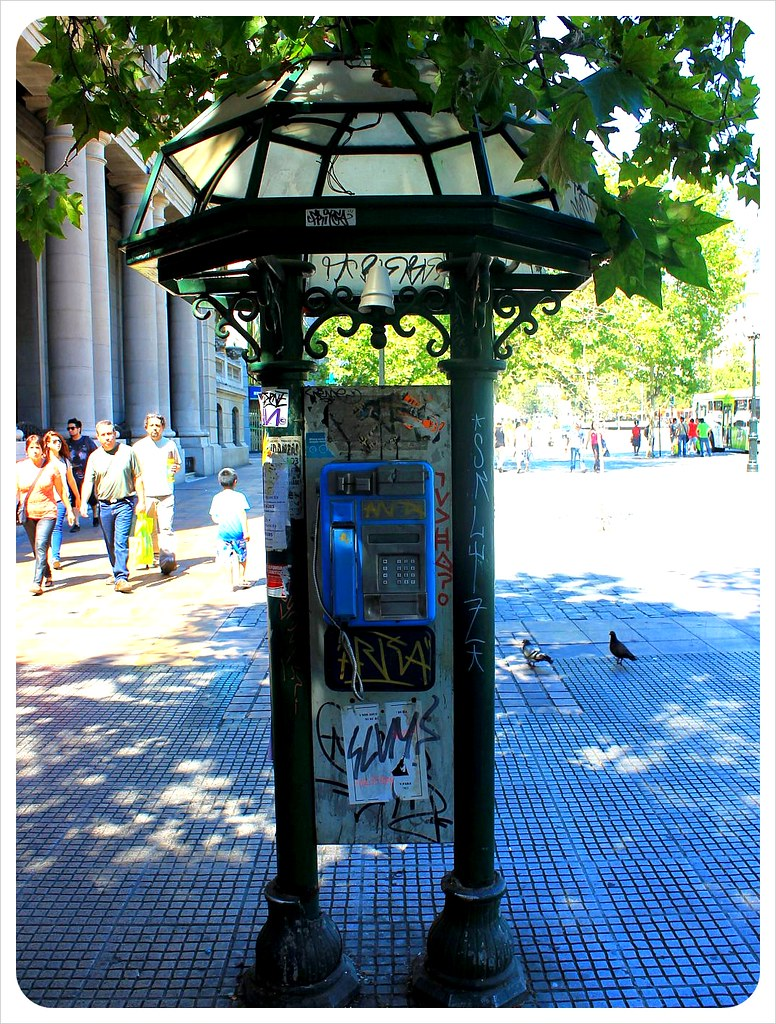 santiago phone booth