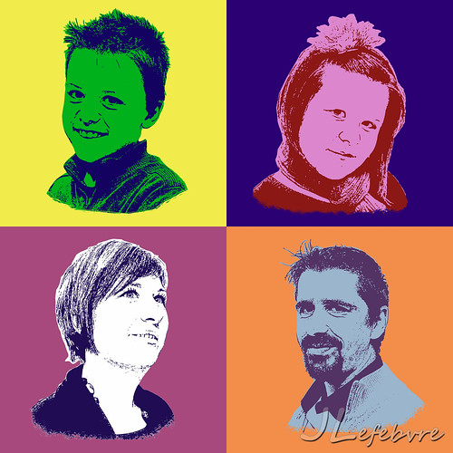 Pop-Art Family