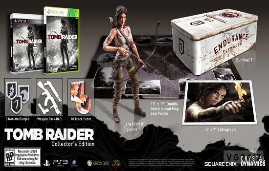 Edição Especial de Tomb Raider tem Lançamento Definido!