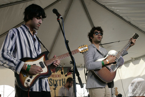 The Allah-Las at Paste party