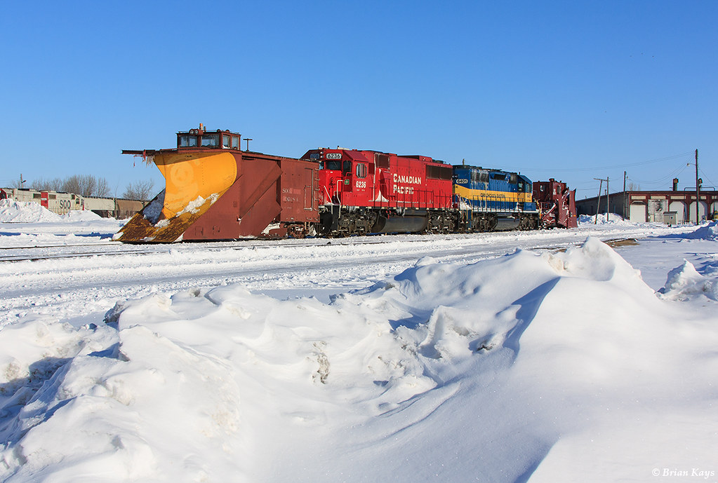 Thief River Falls rail snow plows