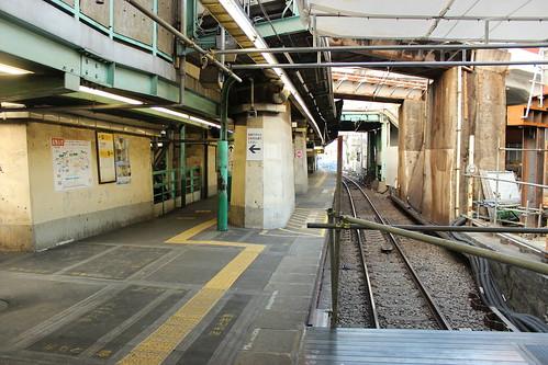 下北沢駅旧ホーム