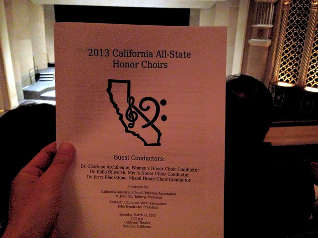 2013 California All-State Honor Choirs