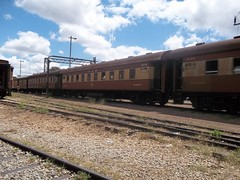 Old and grounded commuter trains belonging to National Railways of Zimbabwe in Harare lie in disuse. The country's rail transport system is in crisis. Credit: Jeffrey Moyo/IPS