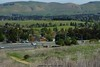 Overlooking Concord, CA - Looking down from vantage point onto crossing of Ygnacio Valley and Cowell Road.