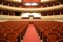 function hall(0.0), ballroom(0.0), audience(0.0), building(1.0), performing arts center(1.0), theatre(1.0), theatre(1.0), auditorium(1.0), conference hall(1.0), convention center(1.0),