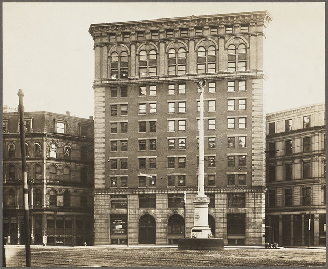 Post Office Square. George Thorndike Angell Memorial