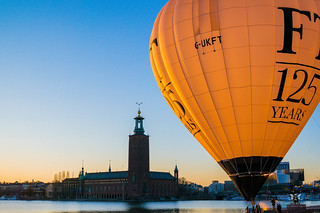 City Hall (Stadshuset) and Balloon | by Tommie Hansen