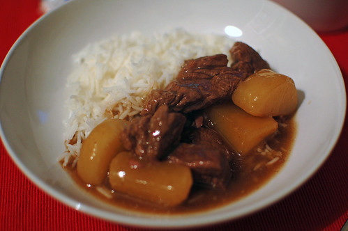 Braised Beef and Daikon
