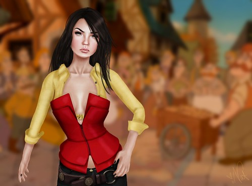 SL DisneyBound - Gaston ; TWO