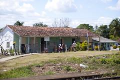 La escuelita primaria del pueblo de Vega de Palma, en Camajuaní, provincia Villa Clara, Cuba - 2013