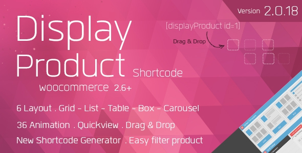 Display Product v2.0.18 - Multi-Layout for WooCommerce