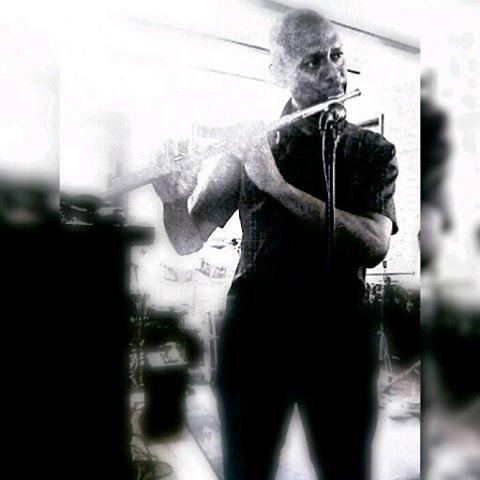 El flautista.  - Foto 3/7. Reto 7x7 en b&n.