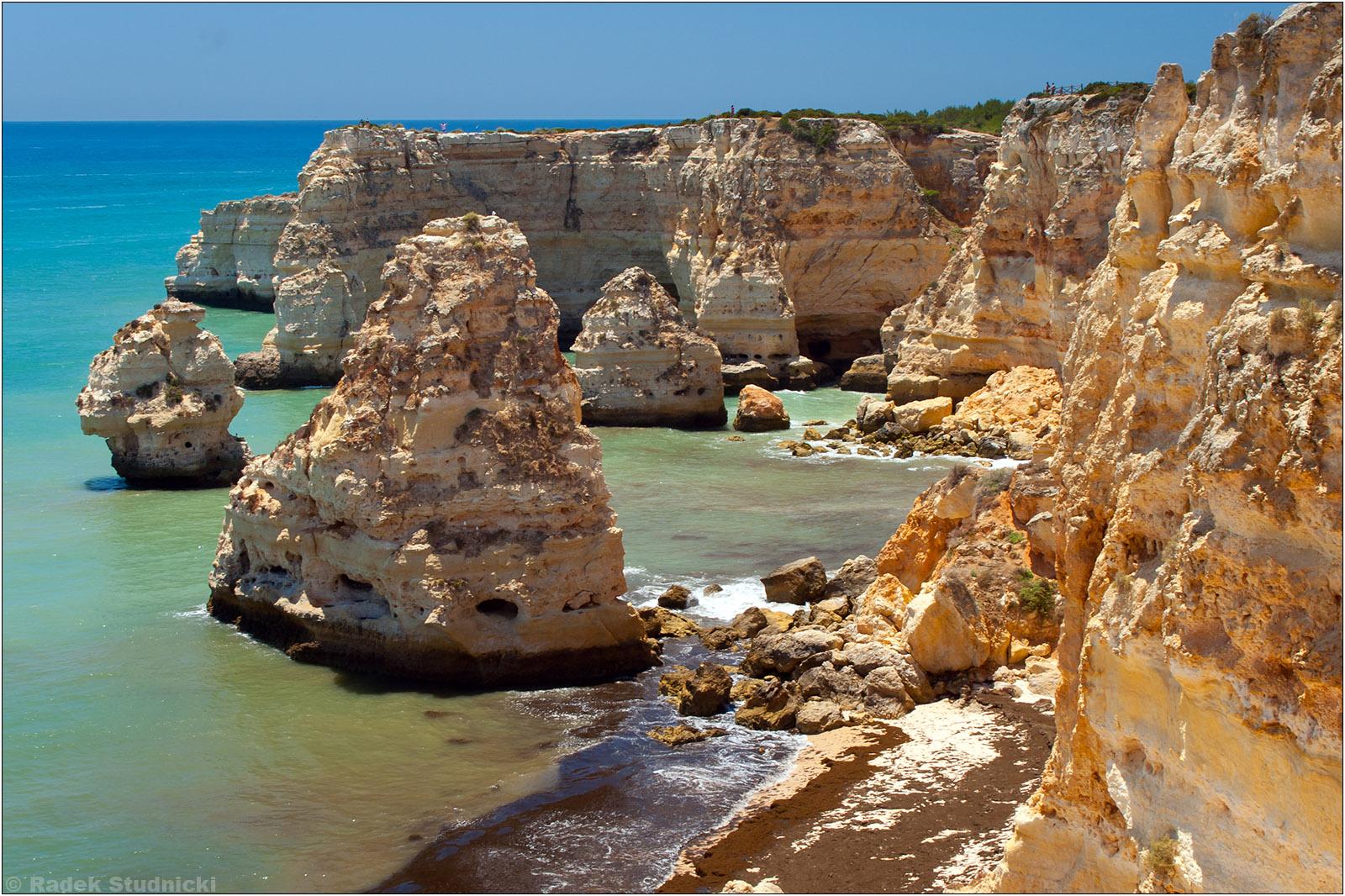 Piaskowe klify Algarve
