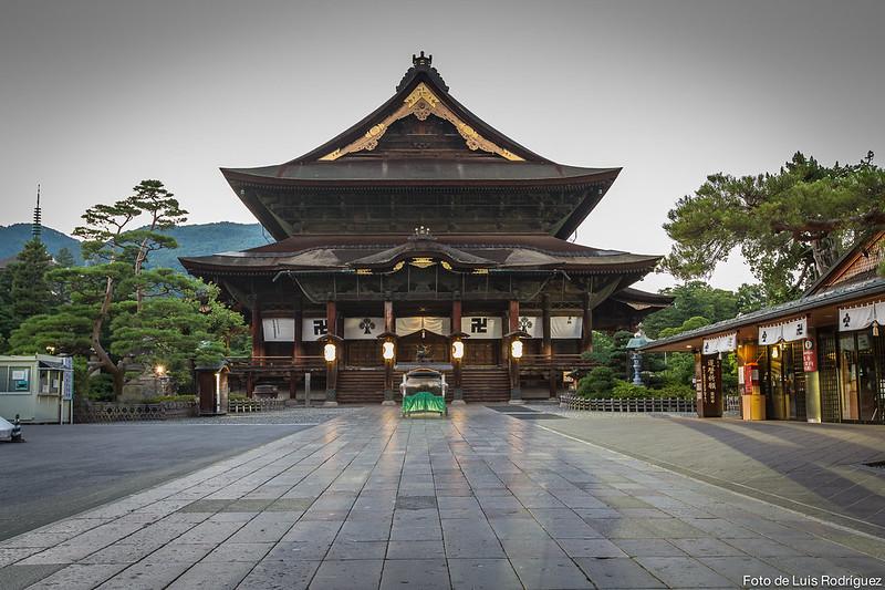 Templo Zenkoji en Nagano