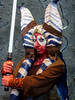 Light Saber Wielding Comic Expo Character