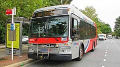 WMATA Metrobus 2012 Orion VII 3G HEV #3074