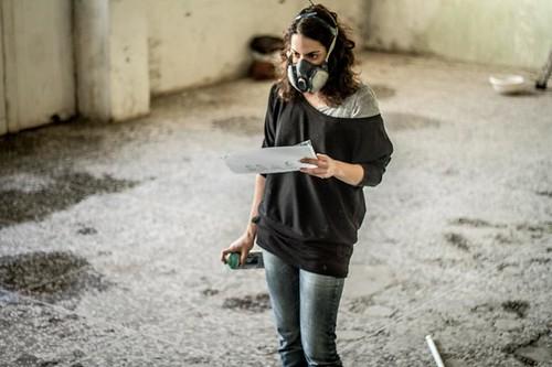Alice Pasquini - Metropoliz- Rome photo by Gloria Viggiani by AliCè