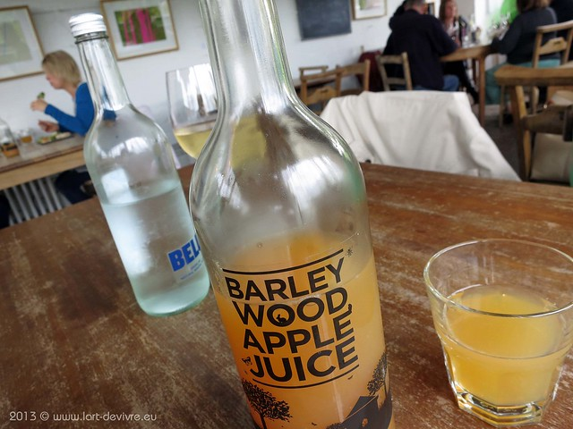 The Ethicurean at Barley Wood Walled Garden - Barley Wood Apple Juice
