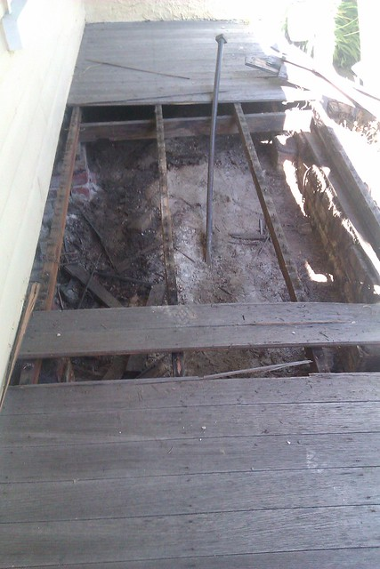 Goodbye Old Verandah!