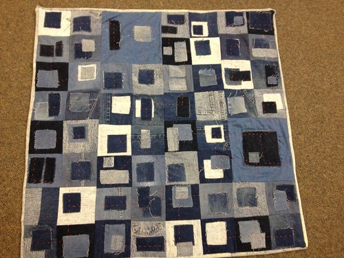 Jen's Project QUILTING 'Square in A Square' Challenge Entry