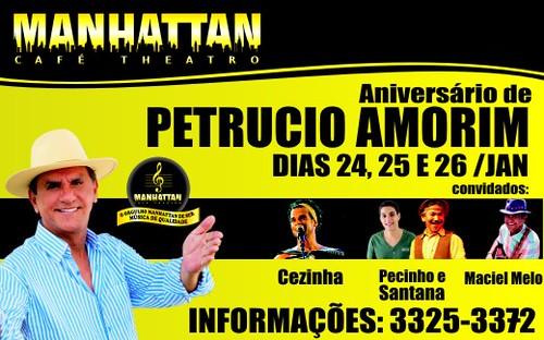 Show de Petrucio Amorim