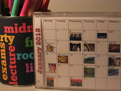 A Photo Calendar for the Dorm (J Burrell)