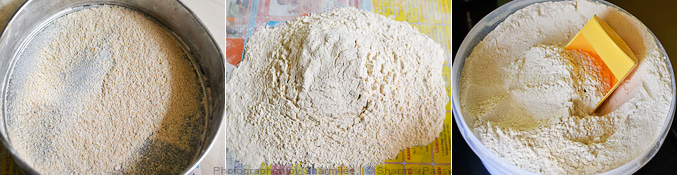 How to make chapati flour - Step2