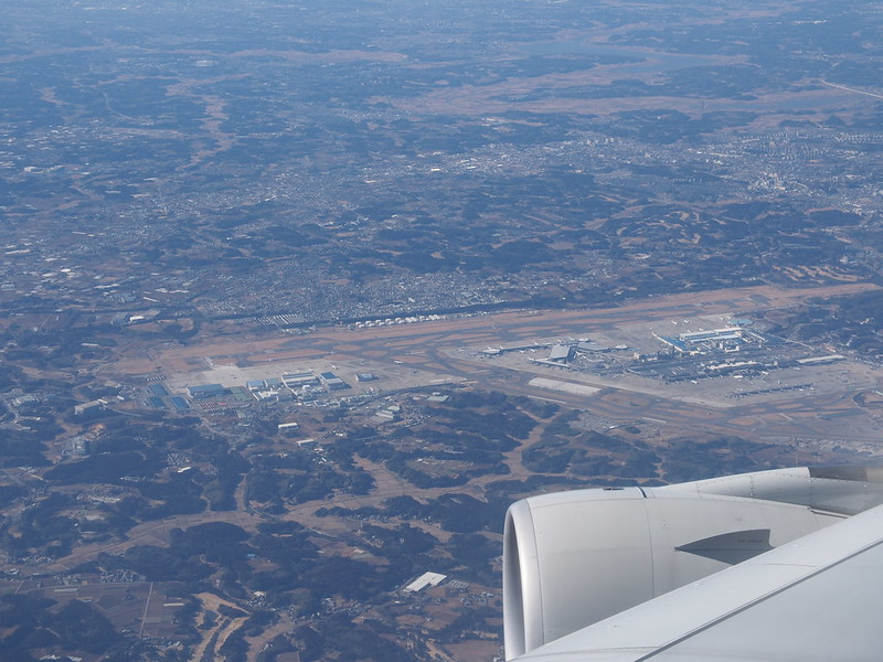 Narita AP from the Air