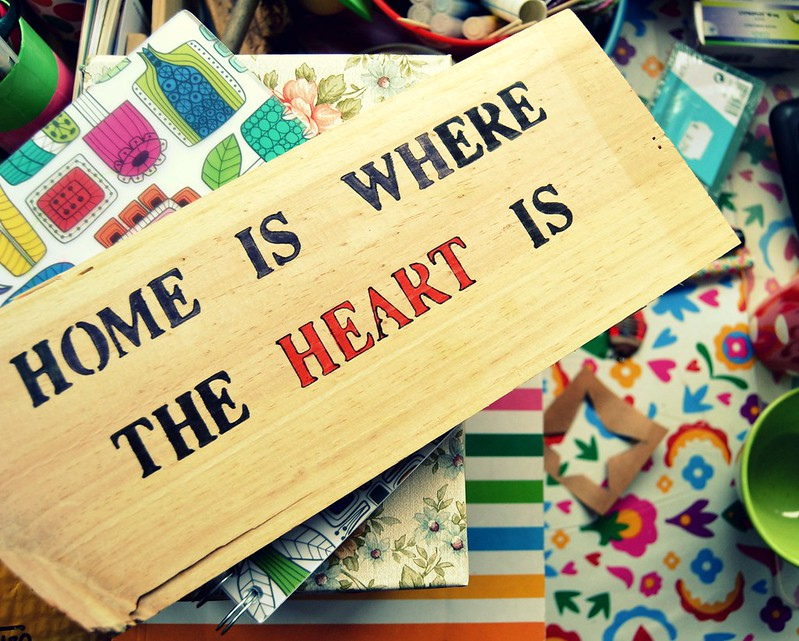 home is where ...