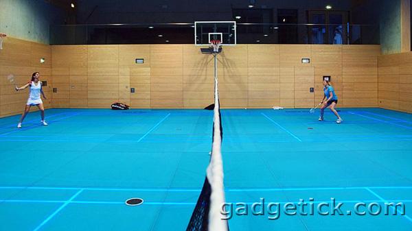 ASB GlassFloor - спортивная площадка со светодиодной подсветкой
