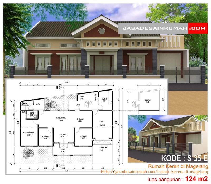 Contoh Karya Jasa Desain Rumah